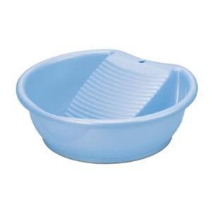 イノマタ化学 ラブウォッシュ パールブルー 32.7×30.9×10.8Hcm 3.7L 洗濯桶板