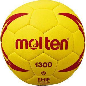 モルテン ハンドボール ヌエバX1300 00号球 イエロー×レッド H00X1300YR|akibaoo