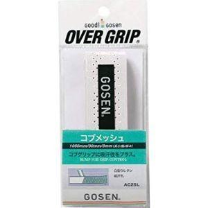 ゴーセン テニスグリップテープ AC25WH|akibaoo