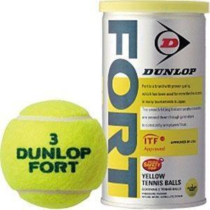 ダンロップ DUNLOP DFDYL NEW テニスボール ダンロップ フォート FORT 2個入り|akibaoo