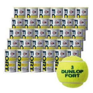 テニスボール FORT フォート ケース 30缶 60球入り 1箱 箱売 プレッシャーボール|akibaoo