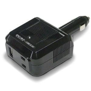 カシムラ DC/ACインバーター 80W AC+USB 2.4A KD-162|akibaoo