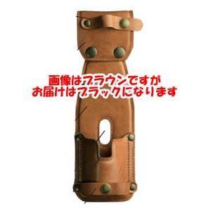 リューギ RYUGI レザーロッドホルダーII 2 ブラック ARH076 203929|akibaoo