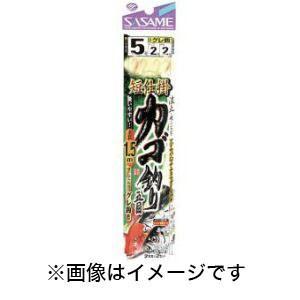 【メール便選択可】ささめ針 SASAME 短仕掛カゴ釣り五目1.5m 6-3号 D-566|akibaoo