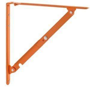 和合商事 TANNER Folding bracket L #05 オレンジ 2本セットの商品画像|ナビ