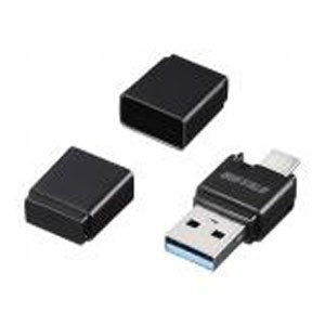 USB3.0 Type-A / microB対応 microSD専用カードリーダー/ライター ブラック BSCRM110U3BK|akibaoo