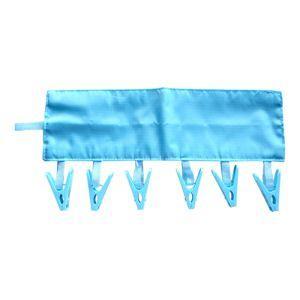 ミヨシ ハンガーやタオル掛けに取り付ける携帯用洗濯ピンチ MBZ-HG05 akibaoo