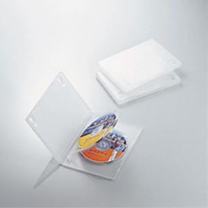 DVDトールケース 3枚収納(3枚パック・クリア) CCD-DVD07CR|akibaoo