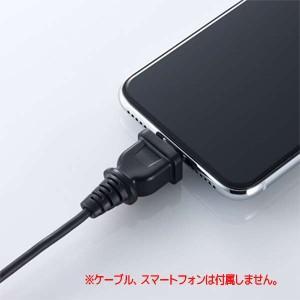 Ligtningケーブルがコンセントプラグに変身 ブラック P-APLTDCNACBK akibaoo