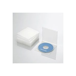 CD/DVDスリムPPケース/1枚収納/10パック/クリア CCD-JPCS10CR|akibaoo