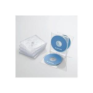 CD/DVDプラケース/4枚収納/5パック/クリア CCD-JSCNQ5CR|akibaoo