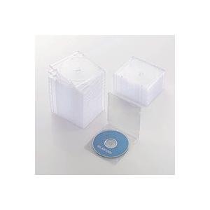 CD/DVDスリムプラケース/1枚収納/50パック/クリア CCD-JSCS50CR CCDJSCS50CR|akibaoo