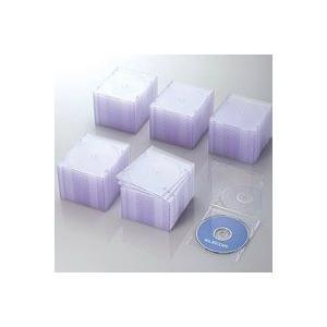 CD/DVDスリムプラケース/1枚収納/100パック/クリア CCD-JSCS100CR|akibaoo