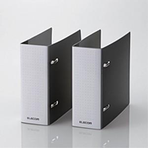 不織布バインダー/2個セット/36枚収納/ブラック CCD-B02WBK|akibaoo