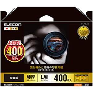 光沢写真用紙/印画紙特厚/L判/400枚 EJK-RCL400|akibaoo