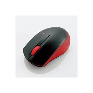 エレコム M-BT12BRRD IRマウス Bluetooth3.0 3ボタン 省電力/レッド|akibaoo