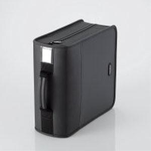 CD/DVDケース ファスナー付 320枚入 CCD-SS320BK|akibaoo