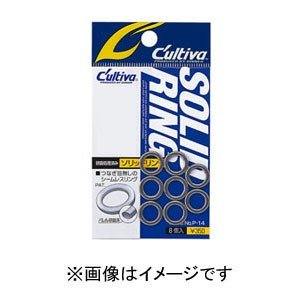 【メール便選択可】オーナーばり OWNER P-14 ソリッドリング 3.5号 72814|akibaoo