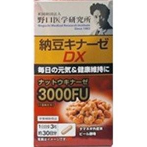 明治薬品 野口医学研究所 納豆キナーゼDX 90粒 akibaoo