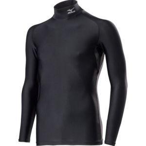 コンプレッションアンダーシャツ ハイネック長袖 メンズXL ブラック H2JTRE0609-XLの商品画像 ナビ