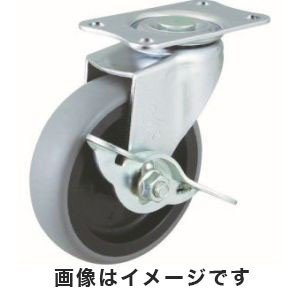 ハンマーキャスター 415E-L50 BAR01 Eシリーズ 自在SP付 PPホイールエラストマー巻車 50mm|akibaoo