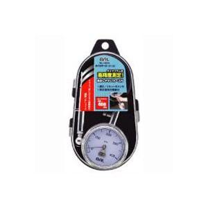 大橋産業 バル 高精度測定 ダイヤフラム式 タイヤゲージ ホース付 1224