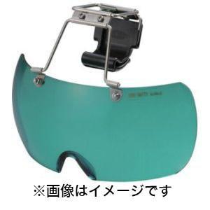トーヨーセフティ ヘルメット取付用メガネ ライトグリーン NO.1400-LG|akibaoo