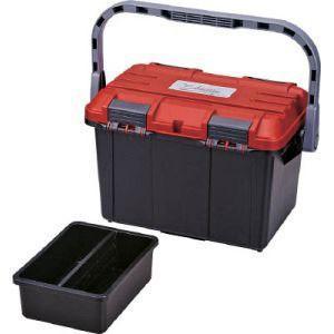 リングスター ドカット レッド/ブラック 465X280mm 17L D-4500 DIY 工具箱 ホビーケース|akibaoo