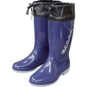 福山ゴム GLA5NV-28.0 長靴 ガロア 5 ネイビー 28.0 メーカー直送 代引不可 沖縄離島不可の画像