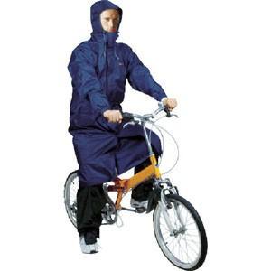 2WAYサイクルコート ネイビー Lサイズ CY002-55-L 自転車 レインコート 男女 レディースメンズ カッパ雨具 akibaoo