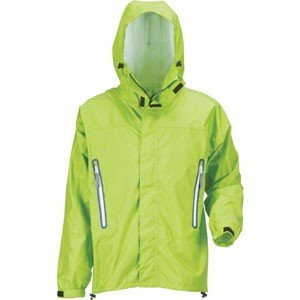 KJレインパーカー ライム Mサイズ 7710-84-ML メンズジャケットウェアカッパ 雨具 合羽 かっぱ akibaoo