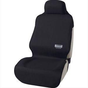 防水カーシートカバー ファインテックス 前席用 前席1枚 枕一体型 ブラック 4361-10BKの商品画像 ナビ