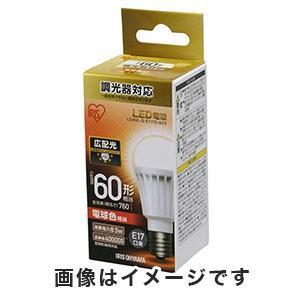 アイリスオーヤマ LED電球 E17 全方向 調光 60形相当 電球色 LDA8L-G-E17/W/D-6V1|akibaoo