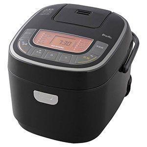 米屋の旨み 銘柄炊き ジャー炊飯器 5.5合 ブラック RC-MC50-B