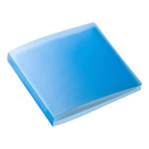ブルーレイディスク対応ファイルケース(12枚収納・ブルー) FCD-FLBD12BL|akibaoo