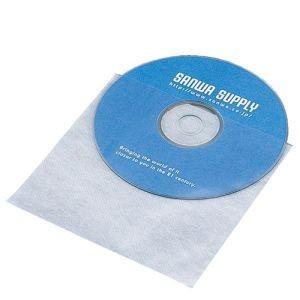 サンワサプライ CD・CD-R用不織布ケース(100枚セット) FCD-F100|akibaoo