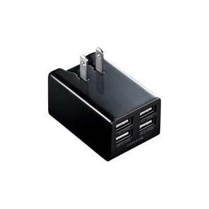USB充電器 ACA-IP38BK akibaoo