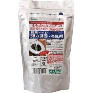 アズマ工業 簡易トイレ強力凝固・消臭剤400 400g CH888