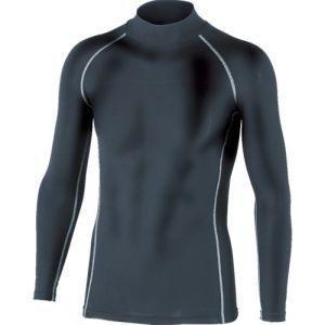 【メール便選択可】おたふく手袋 おたふく手袋 BTパワーストレッチハイネックシャツ ブラック Lサイズ JW-170|akibaoo