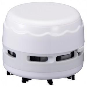 卓上そうじ機 乾電池式 ホワイト JIM-C02-W 00-5157 akibaoo
