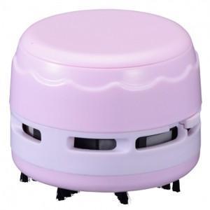 卓上そうじ機 乾電池式 ピンク JIM-C02-P 00-5158 akibaoo