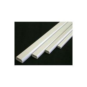 テープ付きモール 0号 白 1m×1本 DZ-PMT01-W 00-9850|akibaoo