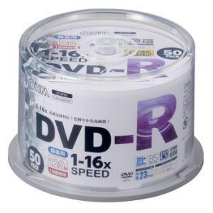 オーム電機 OHM DVDーR 16倍速対応 録画用 50枚 スピンドル入 01-0750 PC-M16XDRCP50S|akibaoo