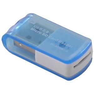 USBカードリーダーライター 8in1マイクロSD専用 SDHC対応 PC-SCRW1-A