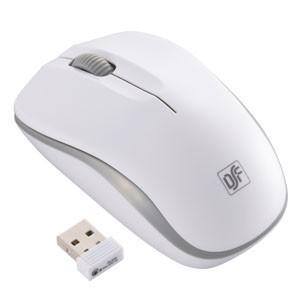 静音ワイヤレスマウス IR LED Mサイズ ホワイト/グレー 3ボタン PC-SMWIMS32 W 01-3585|akibaoo