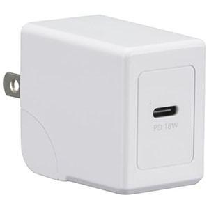 オーム電機 OHM AC充電器 USB Type-C 1個口 超高速充電PD対応 01-7143 MAV-APD18-W|akibaoo