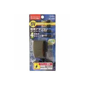 オーム電機 OHM 電源アダプター スイッチング式 出力6V AV-DSW6 03-3142|akibaoo