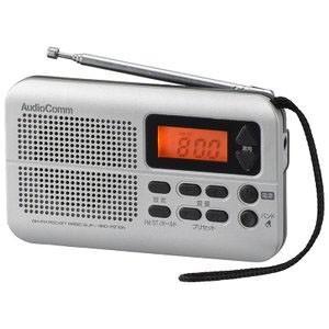 【メール便選択可】オーム電機 RAD-P270N AM/FMポケットラジオ スリム 03-5629 AudioComm|akibaoo