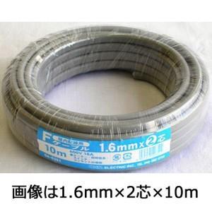 Fケーブル VVF 1.6mm×2芯 5m VVF1.6X2 04-3357|akibaoo