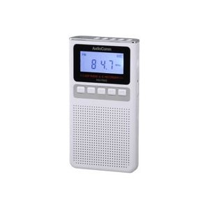 オーム電機 RAD-F830Z-W 録音機能付きラジオ ホワイト AudioComm 07-8369|akibaoo